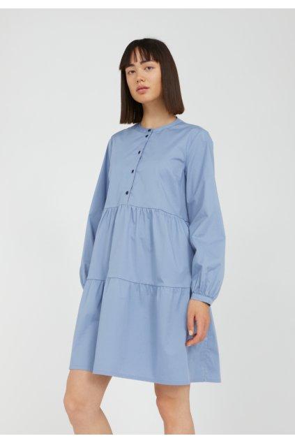 """Dámske modré košeľové šaty """"KOBENHAAVN foggy blue"""""""