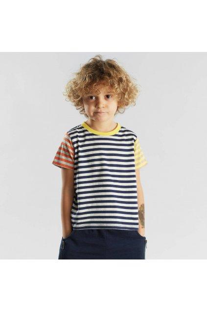 """Detské pruhované tričko """"Hamra Stripes Multi Color"""""""