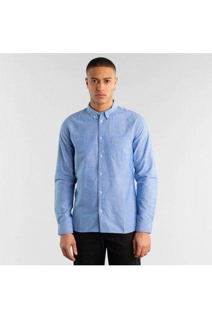 """Pánska modrá košeľa """"Varberg Chambray"""""""