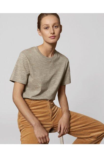 "Unisex tričko ""Creator Wooden Heather"""