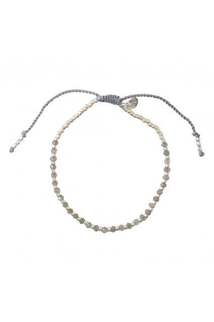 """Dámsky náramok """"Beautiful Labradorite Silver Bracelet"""""""