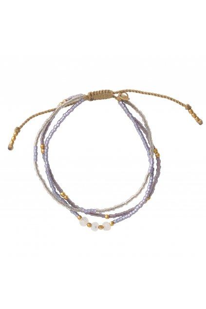 """Dámsky náramok """"Gentle Moonstone Gold Bracelet"""""""