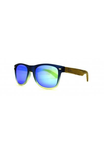 "Ekologické slnečné okuliare Castor ""139 WAY BICOLOR BLUE GREEN BLUE"""
