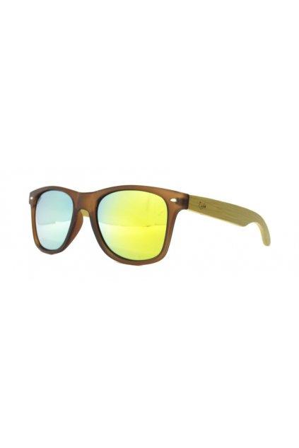 """Ekologické slnečné okuliare Castor """"186 YUKON BROWN MATT YELLOW"""""""