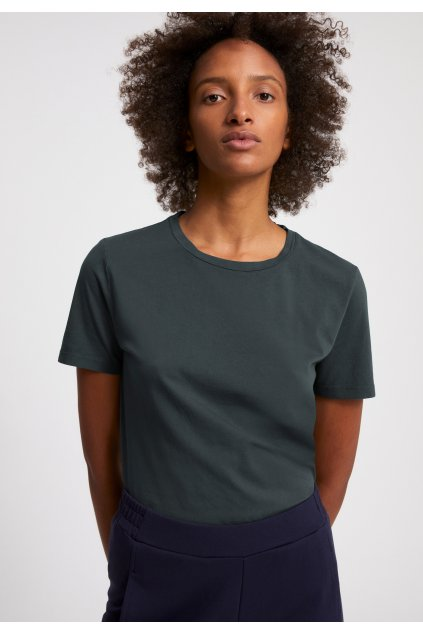 "Dámske modré tričko ""MARAA EARTHCOLORS natural indigo"""