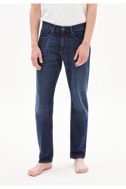 "Pánske modré džínsy z biobavlny ""DYLAAN blue authentic"""