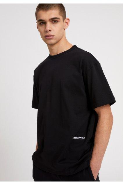 "Pánske čierne tričko ""AALEX AACT black"""