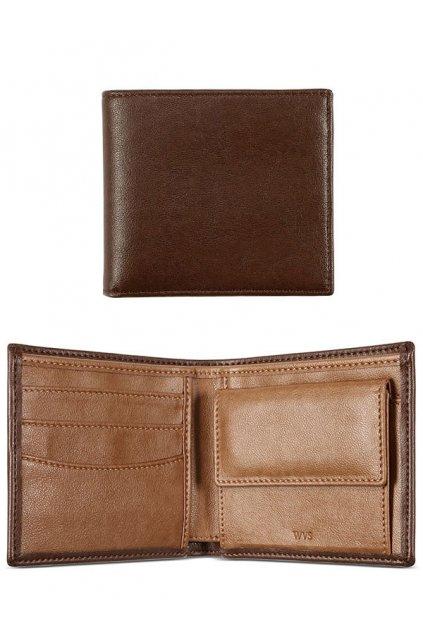 """Pánska hnedá peňaženka """"Billfold Coin Wallet Chestnut"""""""