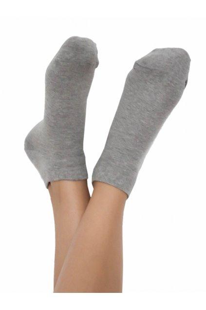 Ponožky do tenisek - šedé (Velikost 35-38)