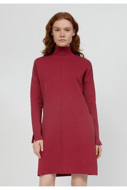 "Dámske ružové pletené šaty ""SIENNAA rosewood"""