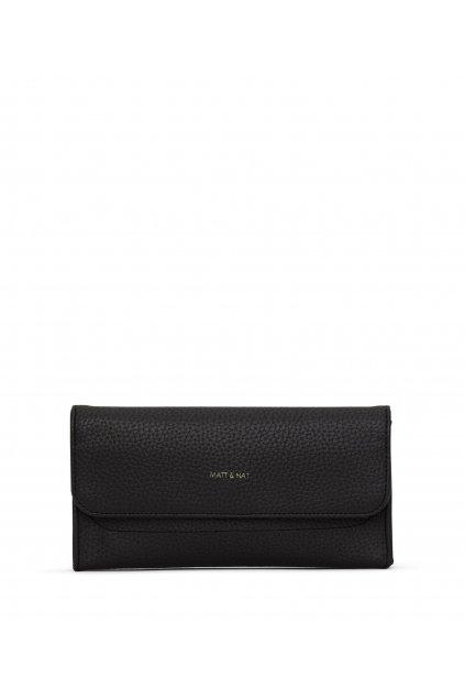 """Dámska čierna peňaženka """"NIKI black"""" - kolekcia Purity"""