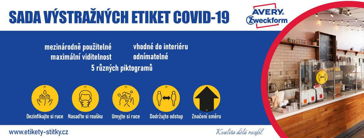 covid etikety