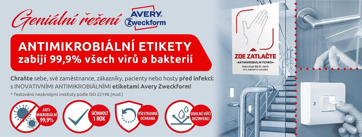 antimikrobiální etikety