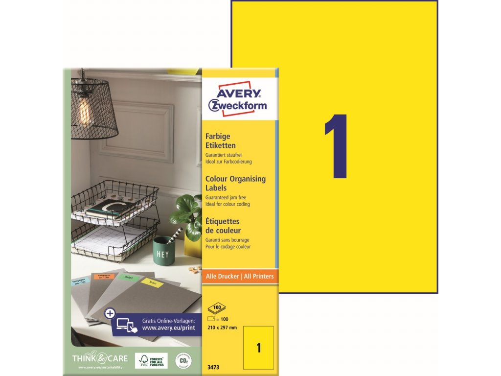 Avery Zweckform 3473