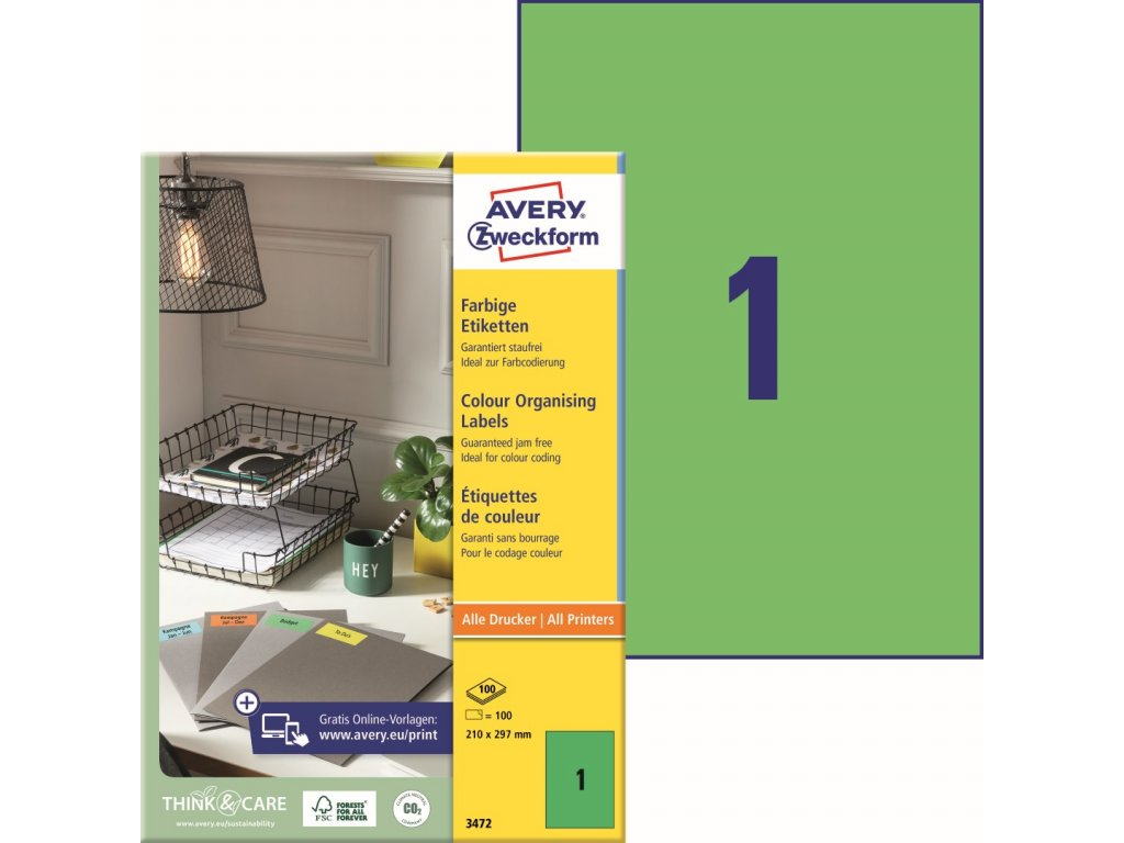 Avery Zweckform 3472
