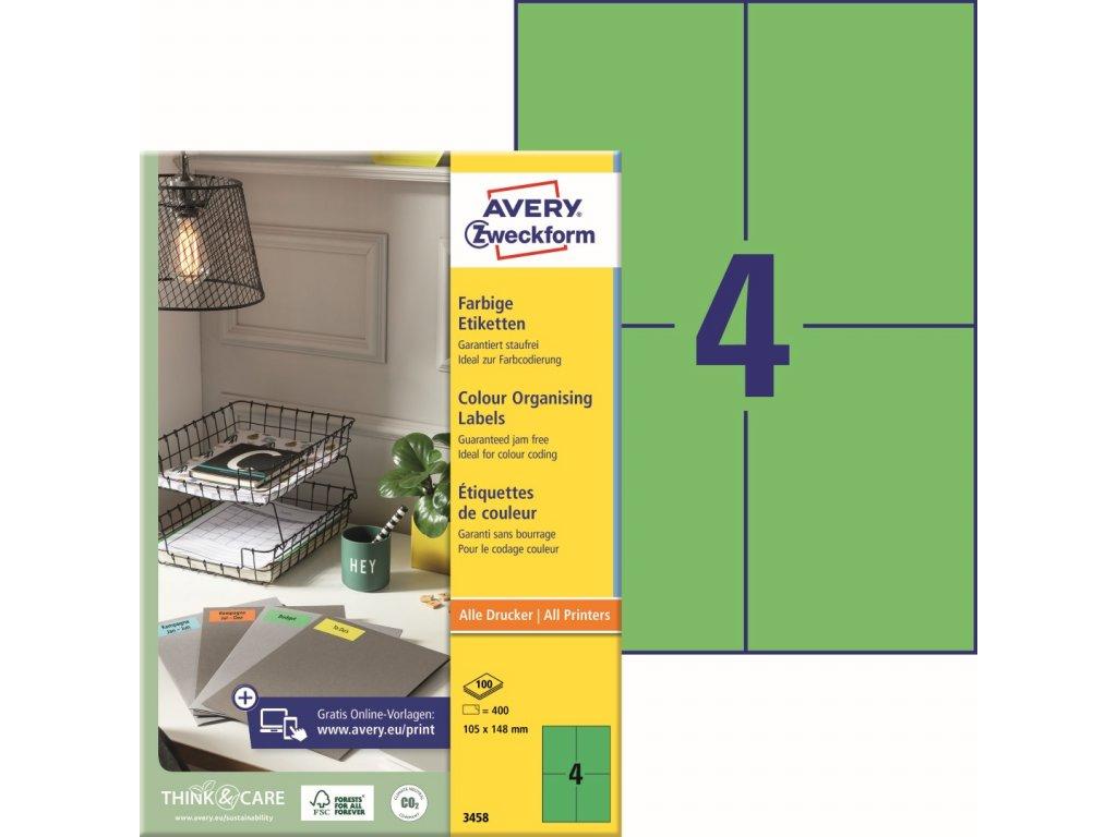 Avery Zweckform 3458