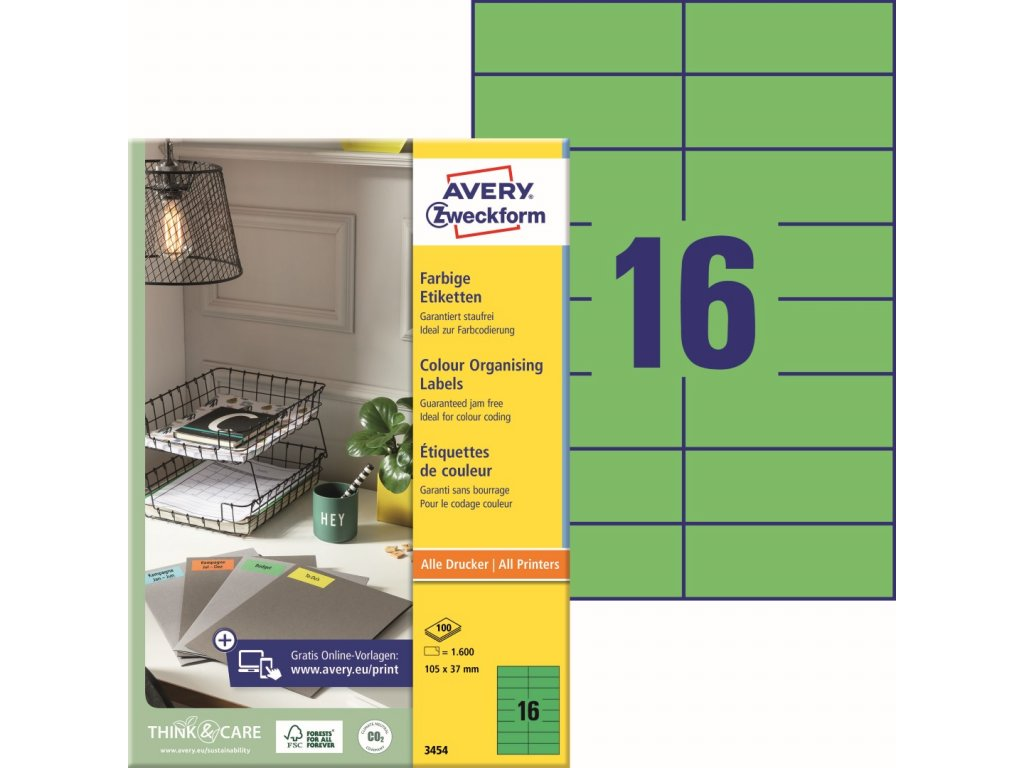 Avery Zweckform 3454