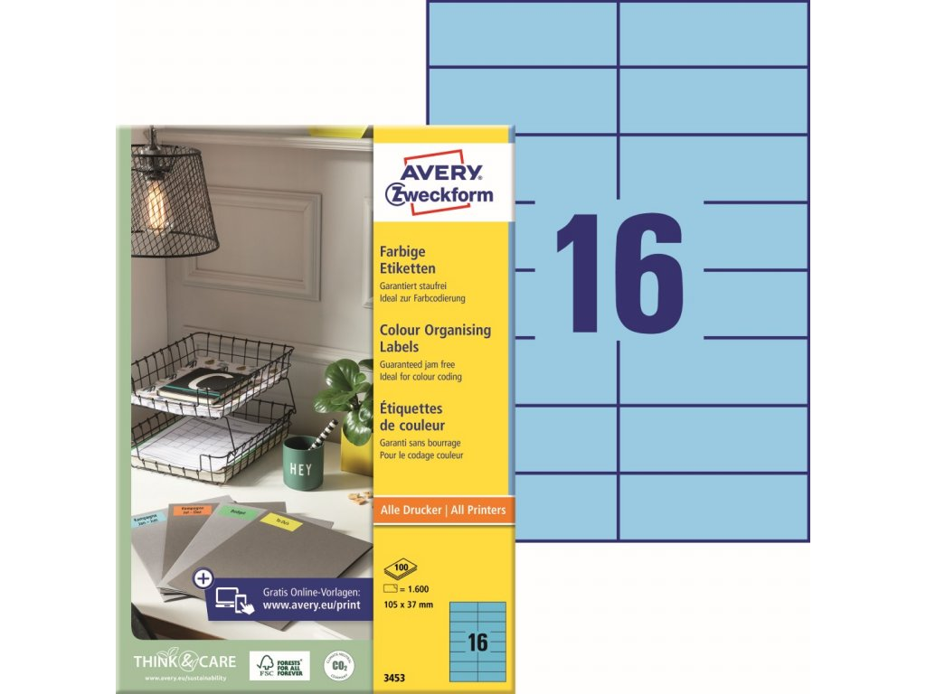 Avery Zweckform 3453