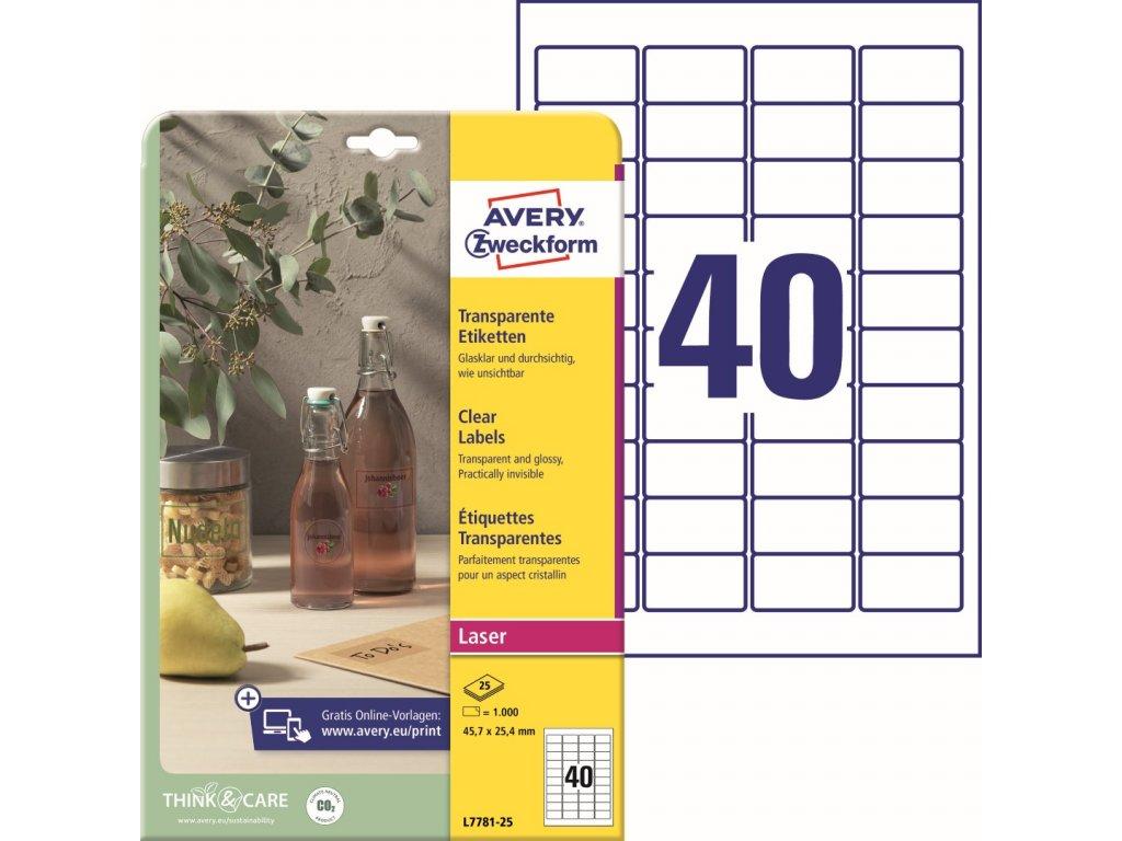 Avery Zweckform L7781-25