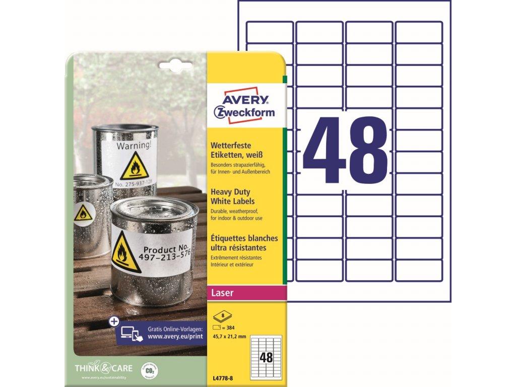 Avery Zweckform L4778-8