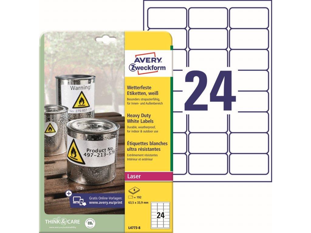 Avery Zweckform L4773-8