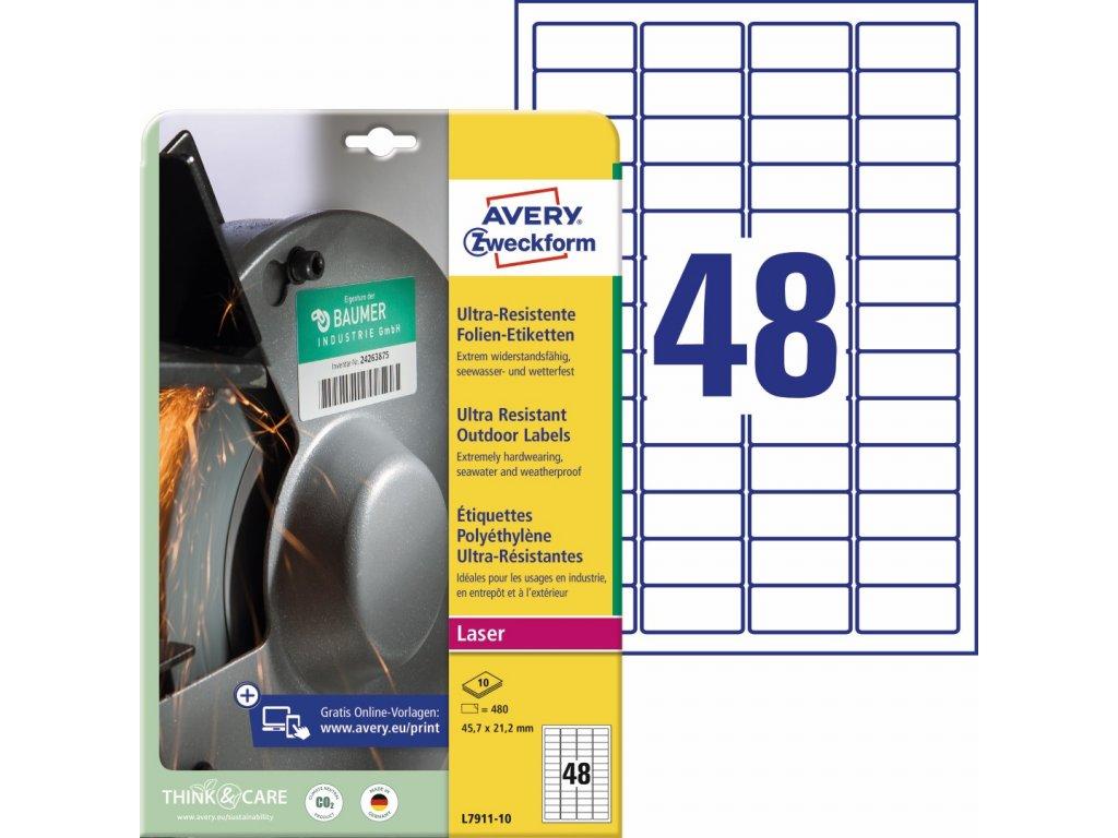Avery Zweckform L7911-10