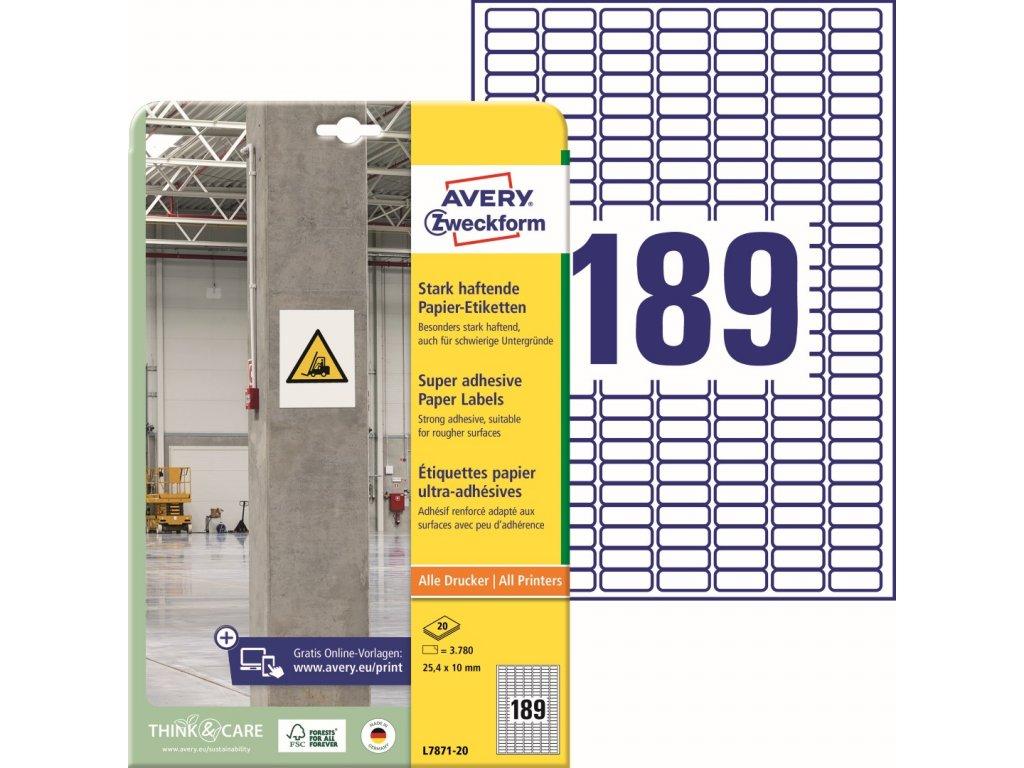 Avery Zweckform L7871-20