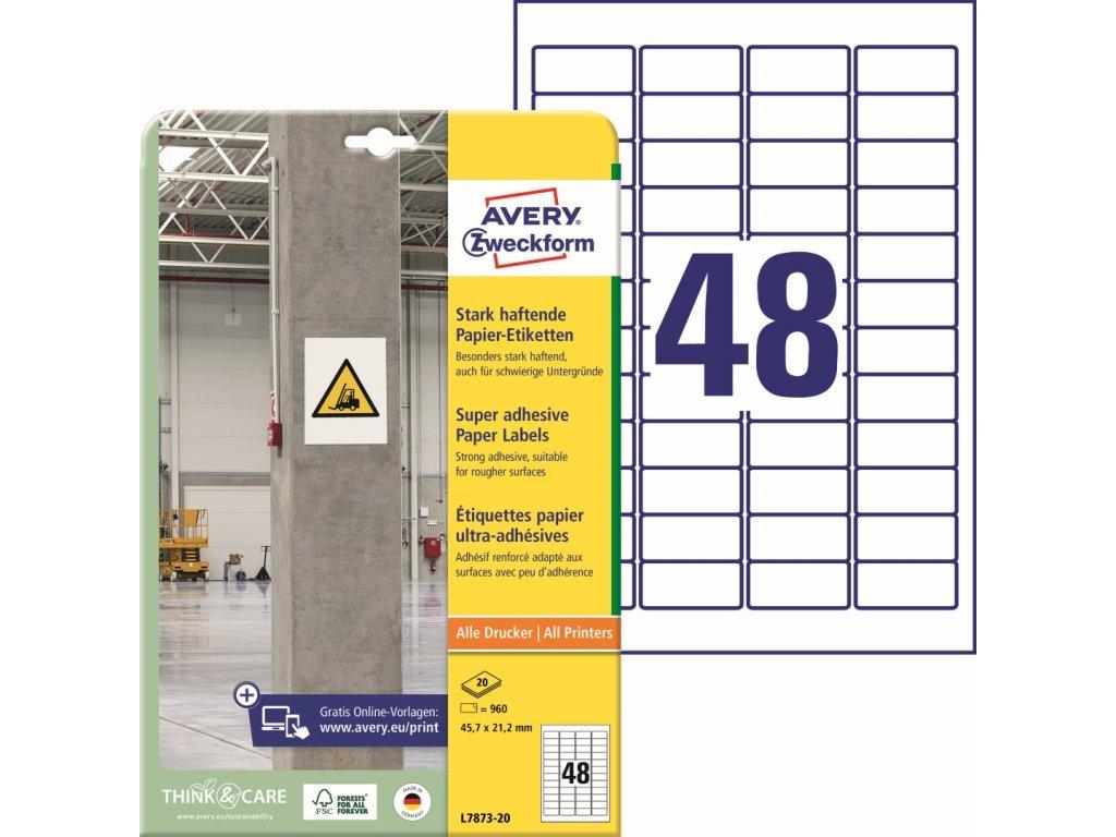 Avery Zweckform L7873-20
