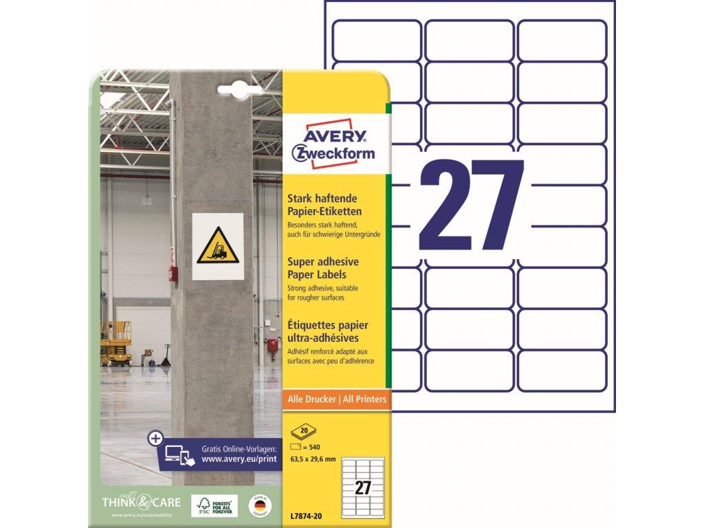 Avery Zweckform L7874-20