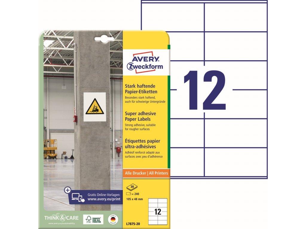 Avery Zweckform L7875-20