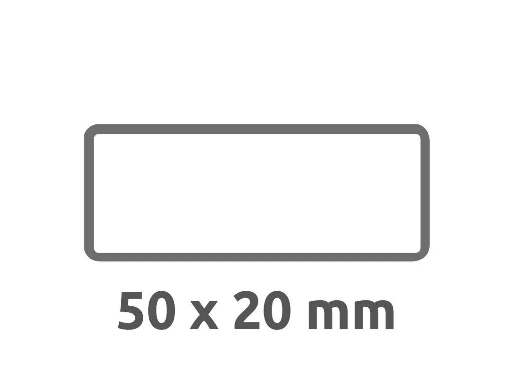 6919 4004182069196 Inventar Etikett Abziehsicher schwarz blanko 2 part (Large)
