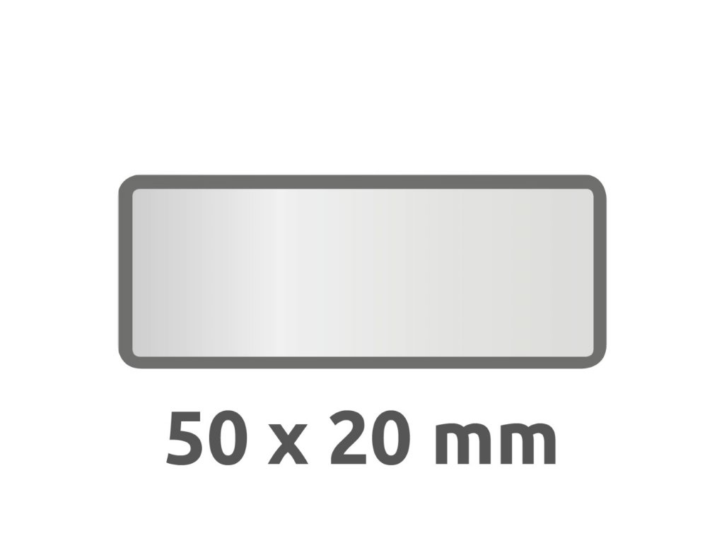 6922 4004182069226 Inventar Etikett Aluminium schwarz blanko 2 part (Large)