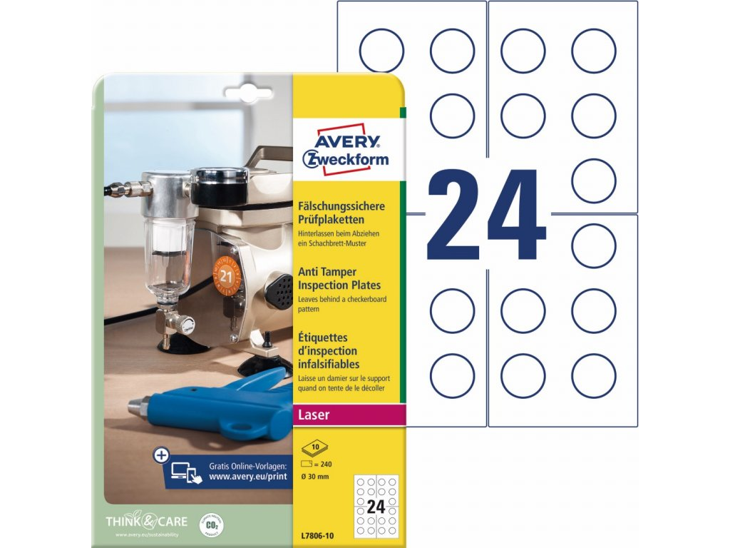 Avery Zweckform L7806-10