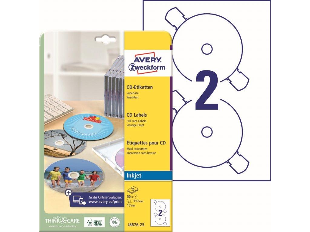 Avery Zweckform J8676-25