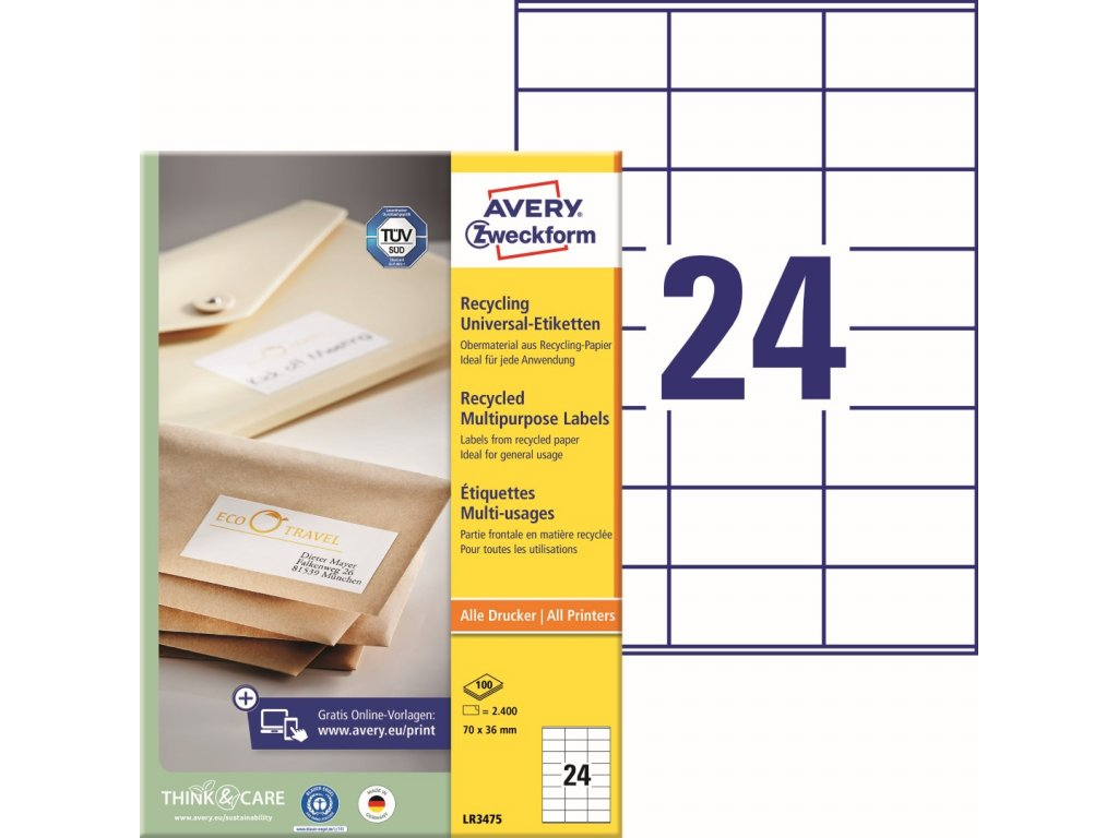 Avery Zweckform LR3475