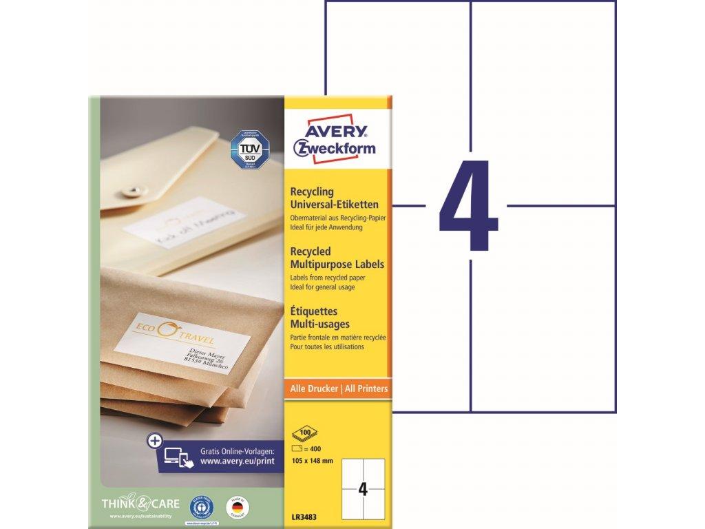 Avery Zweckform LR3483