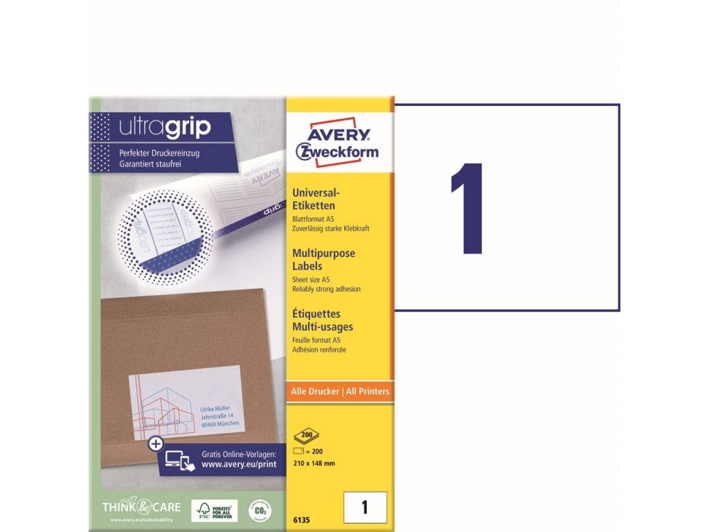 Avery Zweckform 6135