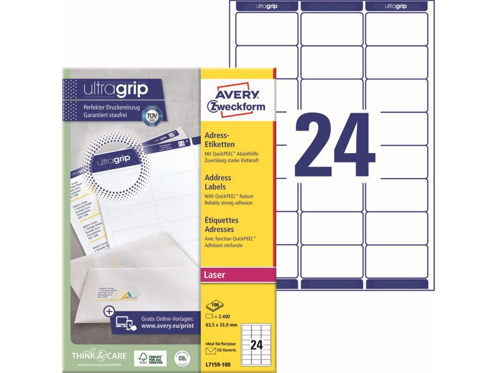 Avery Zweckform L7159-100