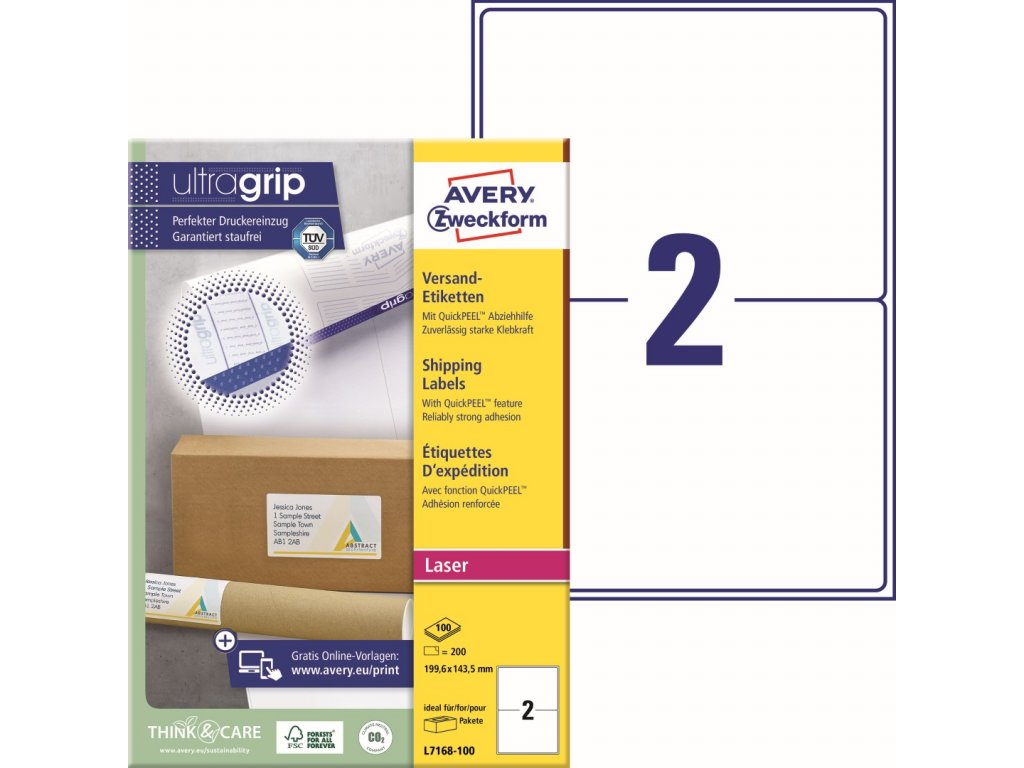 Avery Zweckform L7168-100