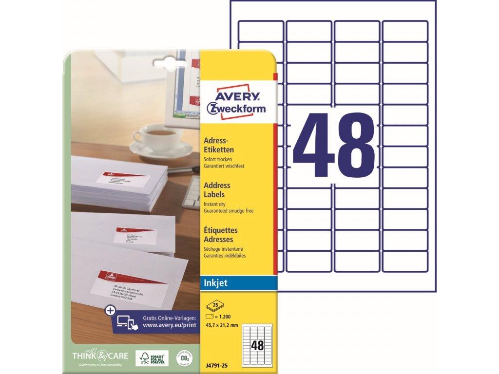 Avery Zweckform J4791-25