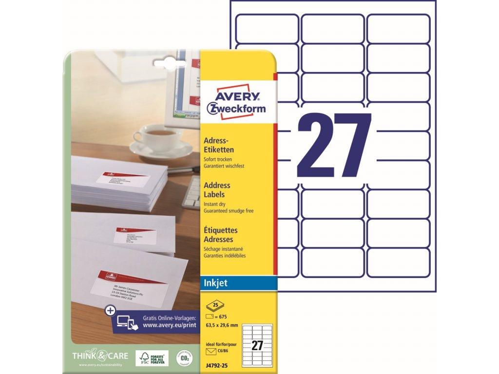 Avery Zweckform J4792-25