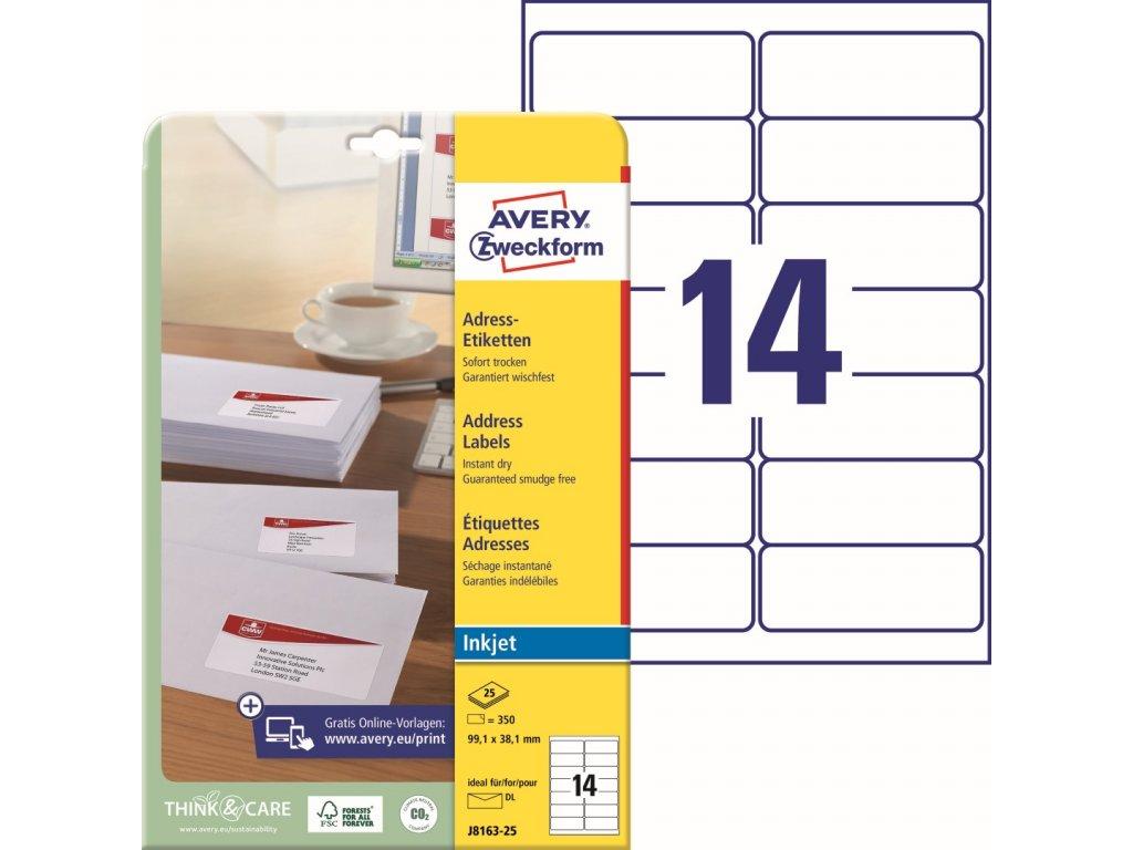 Avery Zweckform J8163-25