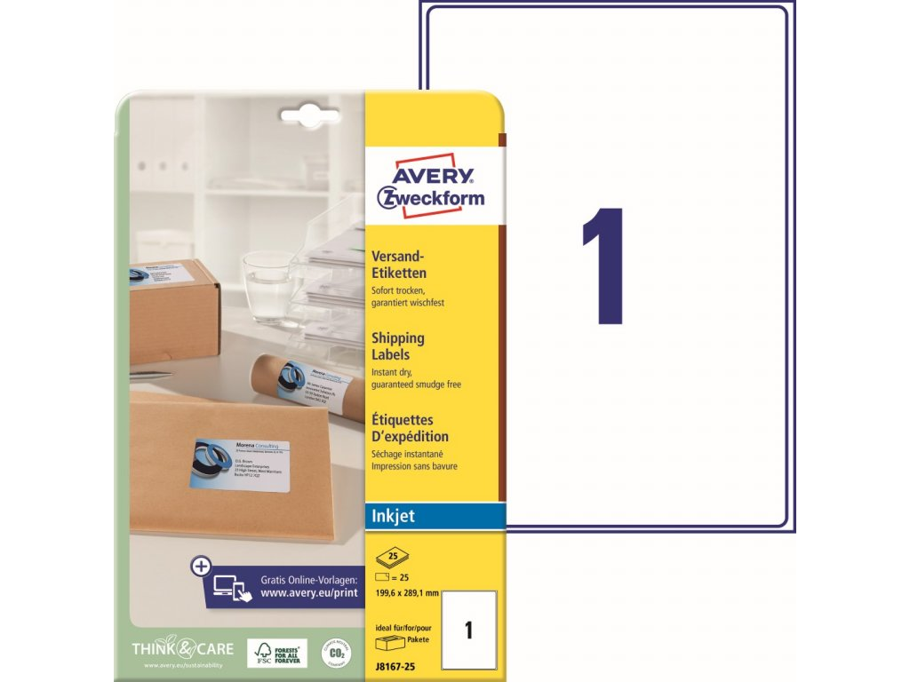 Avery Zweckform J8167-25
