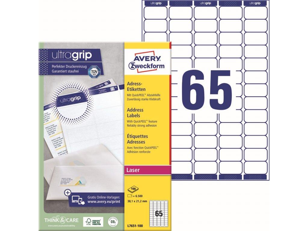 Avery Zweckform L7651-100