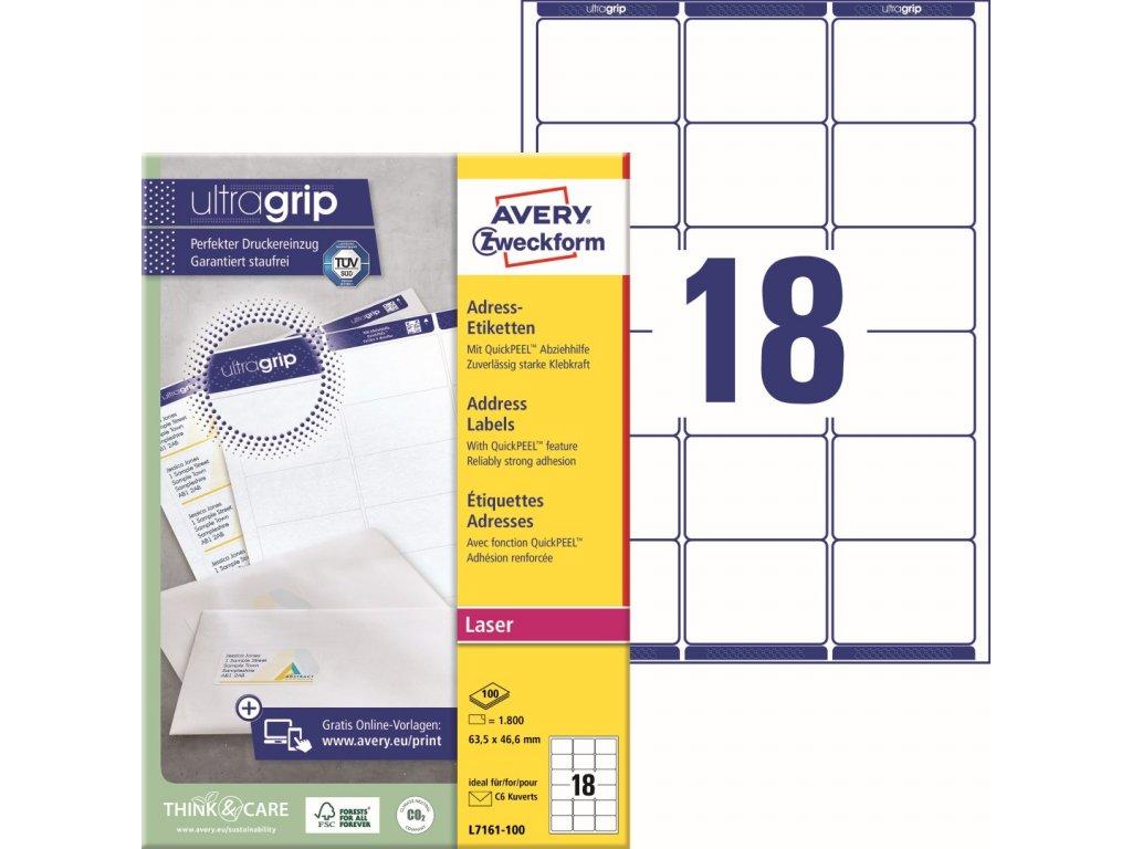 Avery Zweckform L7161-100