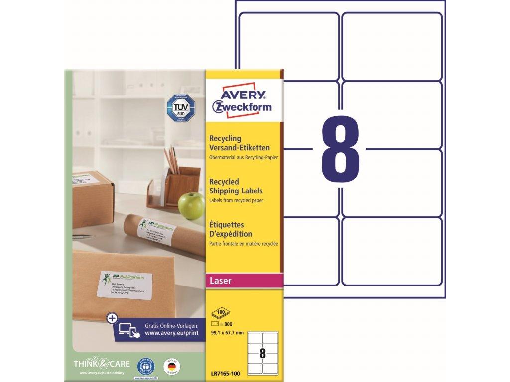 Avety Zweckform LR7165-100