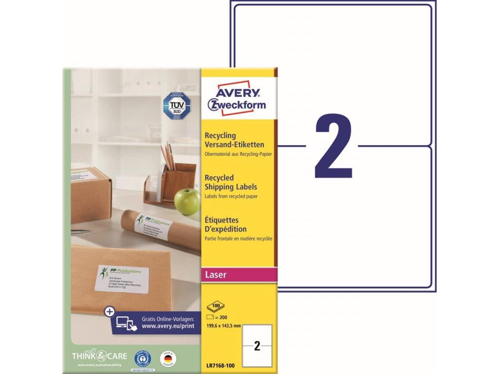 Avety Zweckform LR7168-100