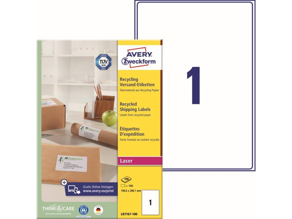 Avety Zweckform LR7167-100