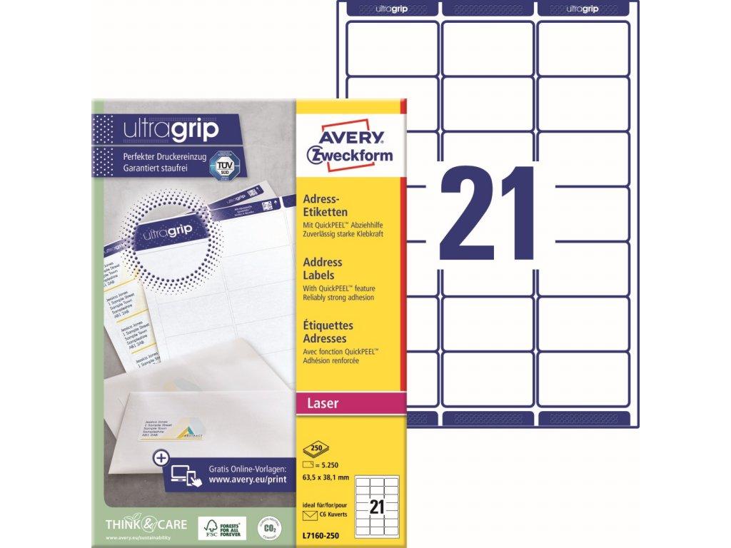 Avery Zweckform L7160-250