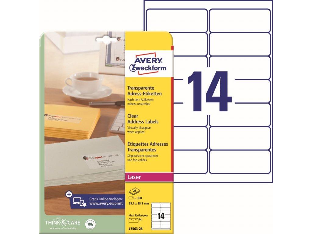 Avery Zweckform L7563-25